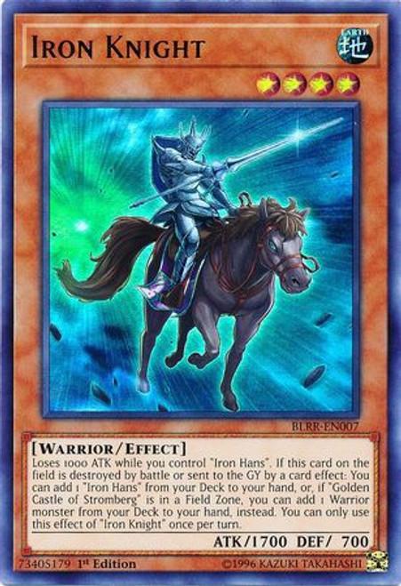 YuGiOh Battles of Legend: Relentless Revenge Ultra Rare Iron Knight BLRR-EN007