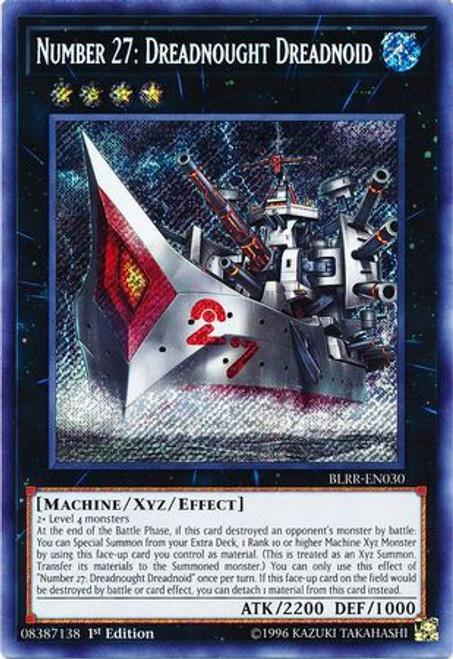 YuGiOh Battles of Legend: Relentless Revenge Secret Rare Number 27: Dreadnought Dreadnoid BLRR-EN030