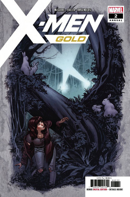 Marvel Comics X-Men Gold #2 Annual Comic Book