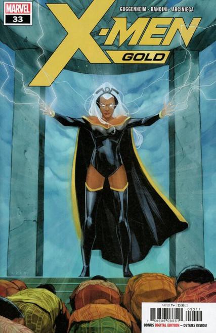 Marvel Comics X-Men Gold #33 Comic Book