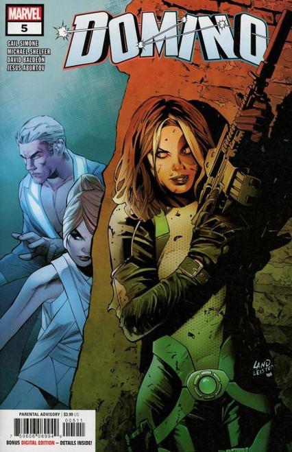Marvel Comics Domino #5 Comic Book