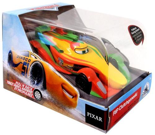 Disney / Pixar Cars Cars 3 Pull 'N' Race RIP Clutchgoneski Exclusive Diecast Car