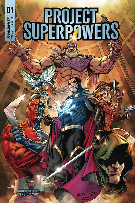 Dynamite Entertainment Project Superpowers #1 Comic Book [Cover G]