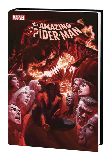 Marvel Comics Amazing Spider-Man Red Goblin Hard Cover Comic Book