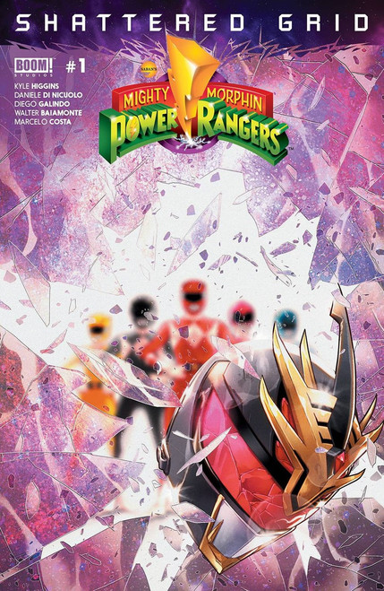 Boom Studios Mighty Morphin Power Rangers #1 Shattered Grid Comic Book