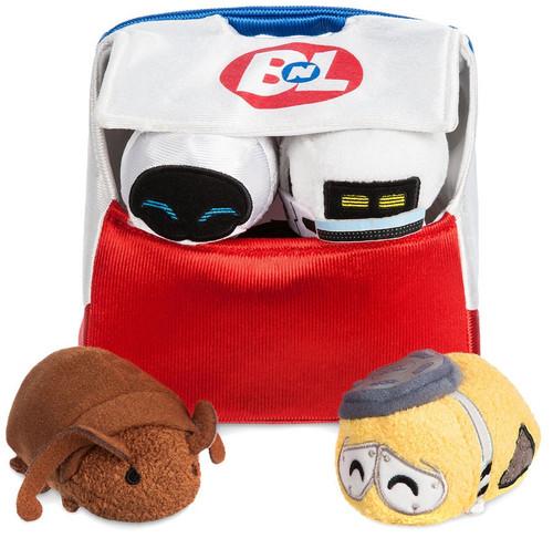 Disney / Pixar Tsum Tsum Wall-E 10th Anniversary Exclusive Mini Plush 4-Pack Set