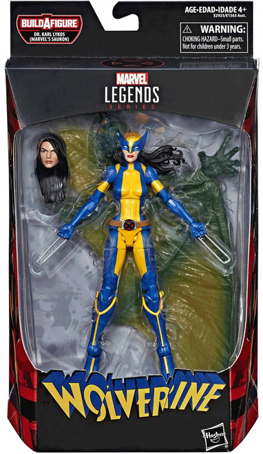 Wolverine Marvel Legends Sauron Series X-23 Action Figure
