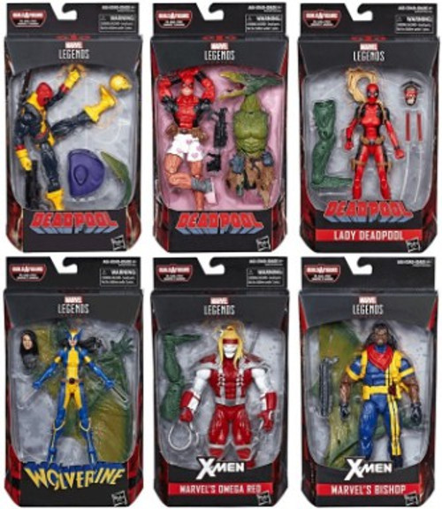Marvel Legends Sauron Series Set of 6 Action Figures