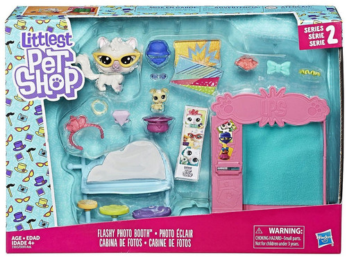 Littlest Pet Shop Flashy Photo Mini Playset