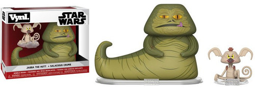 Funko Star Wars Vynl. Jabba the Hutt & Salacious Crumb Vinyl Figure 2-Pack