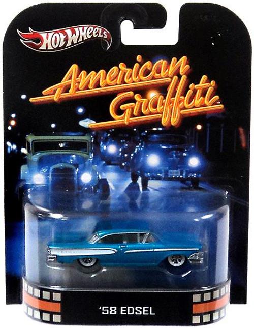 Hot Wheels American Graffiti HW Retro Entertainment '58 Edsel Diecast Car