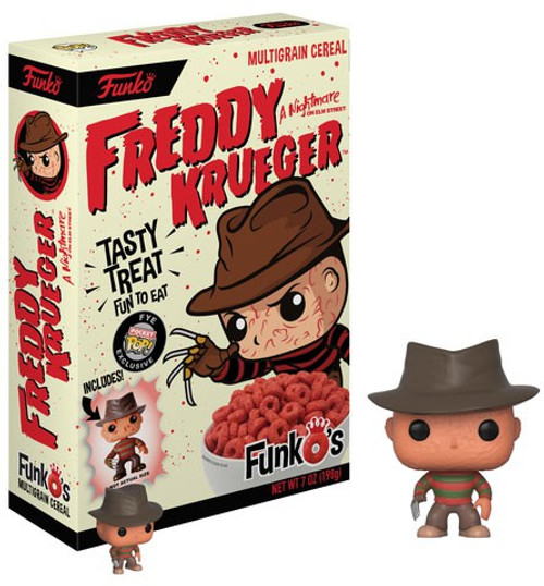 FunkO's Freddy Krueger Exclusive 7 Oz. Breakfast Cereal