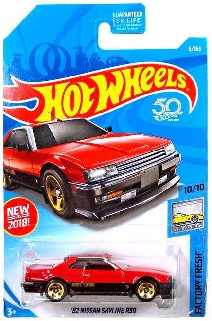 Hot Wheels Factory Fresh '82 Nissan Skyline R30 Die-Cast Car FJV44 [10/10]