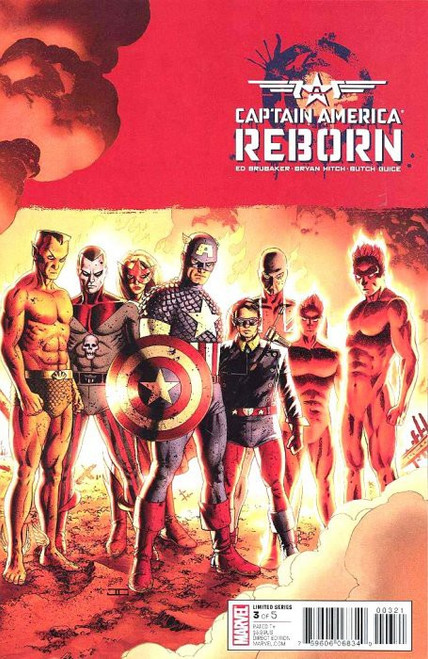 Marvel Comics Captain America Reborn #3 Comic Book [John Cassady Variant Cover]