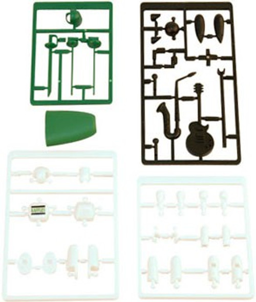 Stikfas Promotional The Rafflesian Action Figure Kit [Saxaphone & Guitar]
