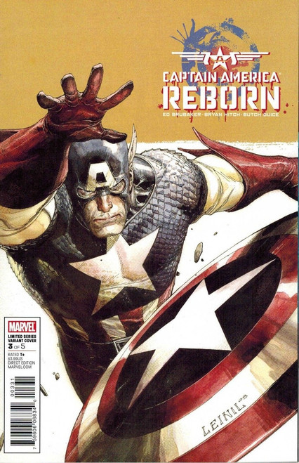 Marvel Comics Captain America Reborn #3 Comic Book [Leinil Francis Yu Variant Cover]