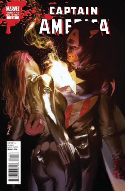 Marvel Comics Captain America #611 Comic Book [Gerald Peral Variant Cover]