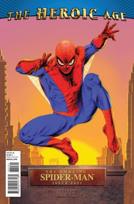 Marvel Comics The Amazing Spider-Man #631 Comic Book [The Heroic Age Variant Cover]