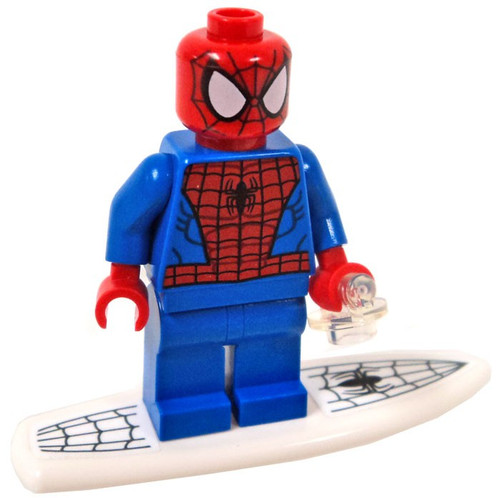 LEGO Spider-Man Minifigure [with Surfboard Loose]