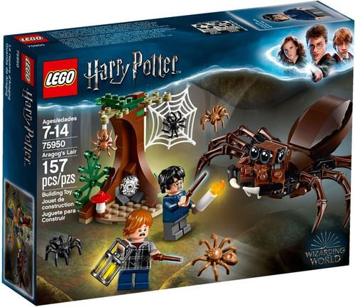LEGO Harry Potter Aragog's Lair Set #75950