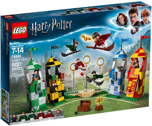 LEGO Harry Potter Quidditch Match Exclusive Set #75956