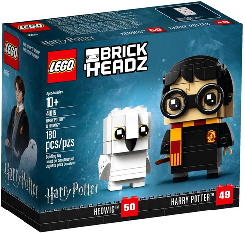 LEGO Brick Headz Harry Potter & Hedwig Set #41615