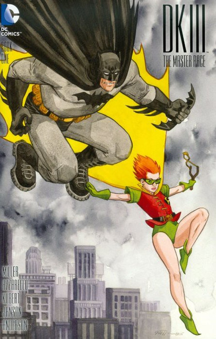DC Batman: Dark Knight III #1 The Master Race Comic Book [Jill Thompson Variant Cover]