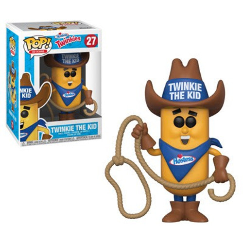 Funko Hostess POP! Ad Icons Twinkie the Kid Vinyl Figure #27 [Brown Hat, Regular Version]