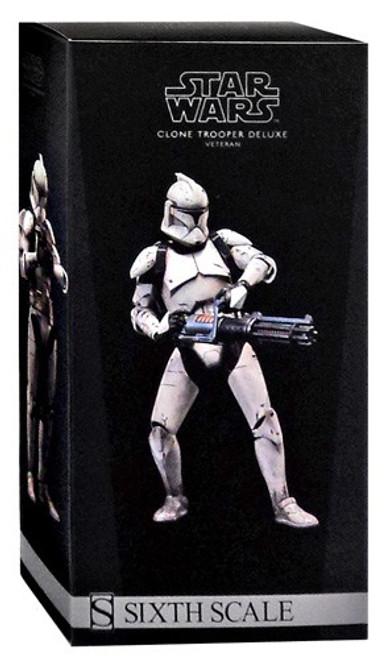 The Clone Wars Militaries of Star Wars Sixth Scale Veteran Clone Trooper Deluxe Action Figure