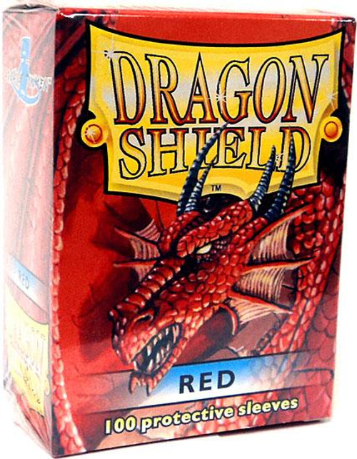 Card Supplies Dragon Shield Red Standard Card Sleeves [100 Count]