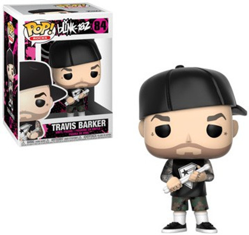 Funko Blink 182 POP! Rocks Travis Barker Vinyl Figure #84