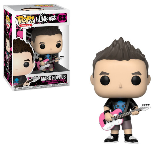 Funko Blink 182 POP! Rocks Mark Hoppus Vinyl Figure #83