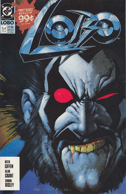 DC Lobo #1 of 4 Comic Book