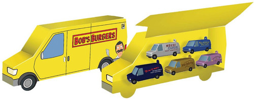 Bob's Burgers Van Collector Set Exclusive