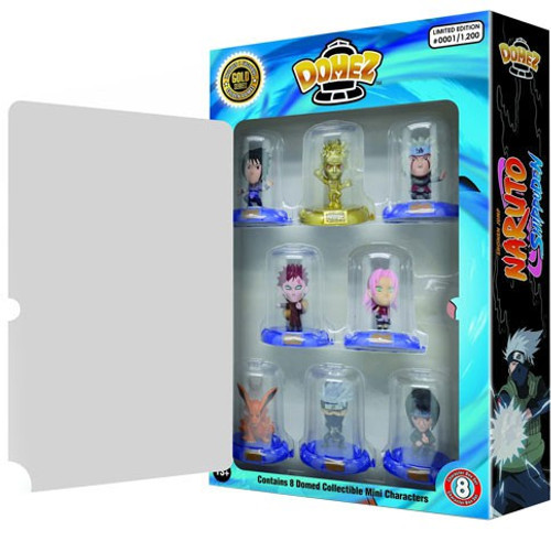 Domez Naruto Exclusive Figure 8-Pack