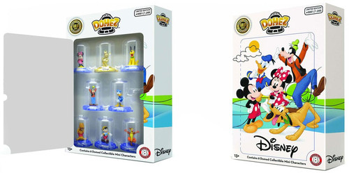Disney Domez Classic Exclusive Figure 8-Pack