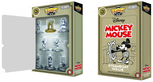 Disney Domez Steamboat Willie Exclusive Figure 8-Pack