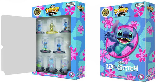 Disney Domez Lilo & Stitch Exclusive Figure 8-Pack