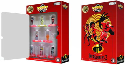 Disney / Pixar Domez Incredibles 2 Exclusive Figure 8-Pack