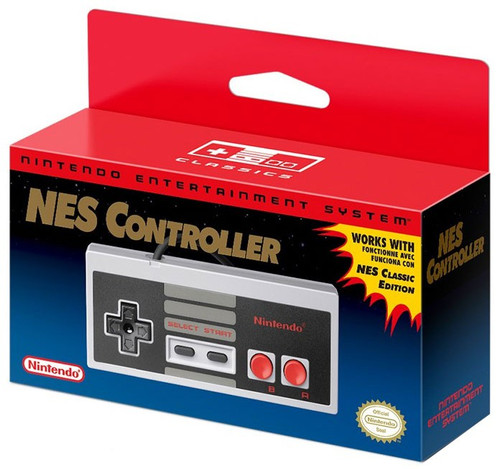 Nintendo NES Controller Video Game Controller [Works with NES Classic Edition]
