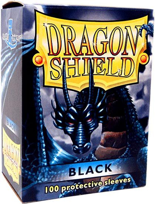 Card Supplies Dragon Shield Black Standard Card Sleeves [100 Count]