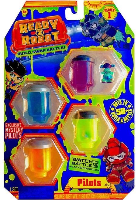 Ready2Robot Pilots Series 1 Style 3 Mystery 4-Pack