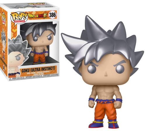 Funko Dragon Ball Z POP! Animation Goku (Ultra Instinct) Vinyl Figure #386