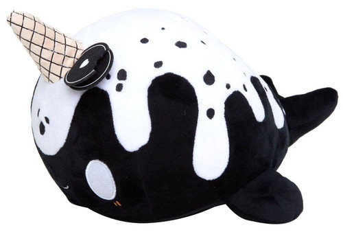 Tasty Peach Nomwhal Cookies & Cream Exclusive 14-Inch Plush