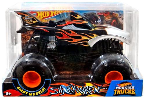 Hot Wheels Monster Trucks Shark Wreak Diecast Car