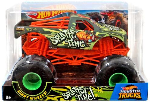 Hot Wheels Monster Trucks Splatter Time! Diecast Car