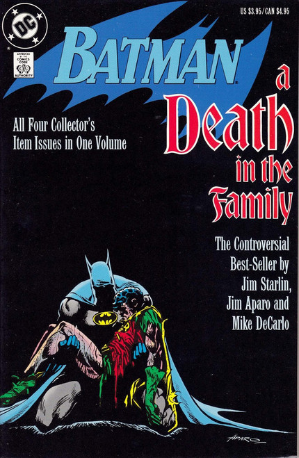 DC Batman A Death in the Family Collector's Volume Comic Book