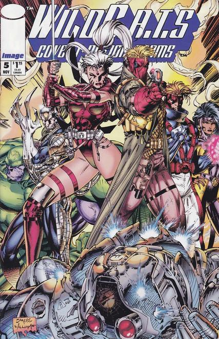 Image Comics Vol. 2 Wild C.A.T.S Covert Action Teams #5 Comic Book