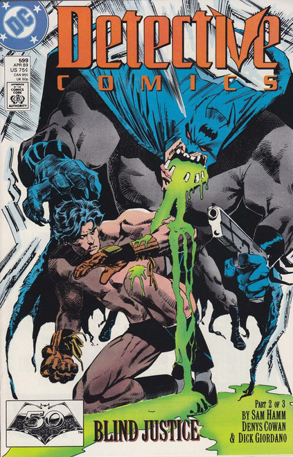 DC Detective Comics #599 Comic Book