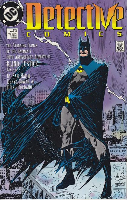 DC Detective Comics #600 Comic Book